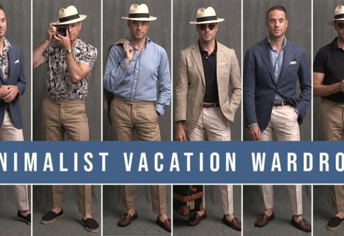 Minimalist Summer Vacation Capsule Wardrobe   10 Pieces, 6 Outfits