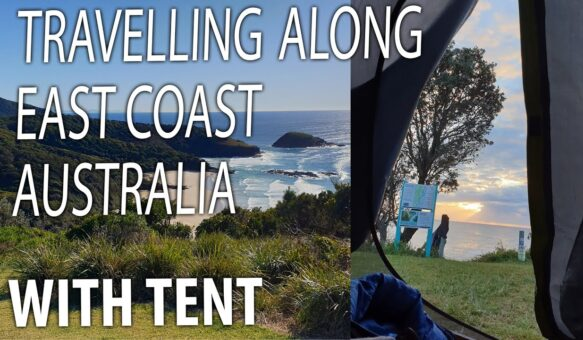 TRAVELLING ALONG EAST COAST OF AUSTRALIA WITH TENT 2020 YEAR